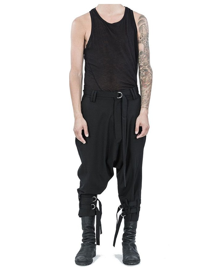 ARMY OF ME STRAPPED CROPPED TROUSERS