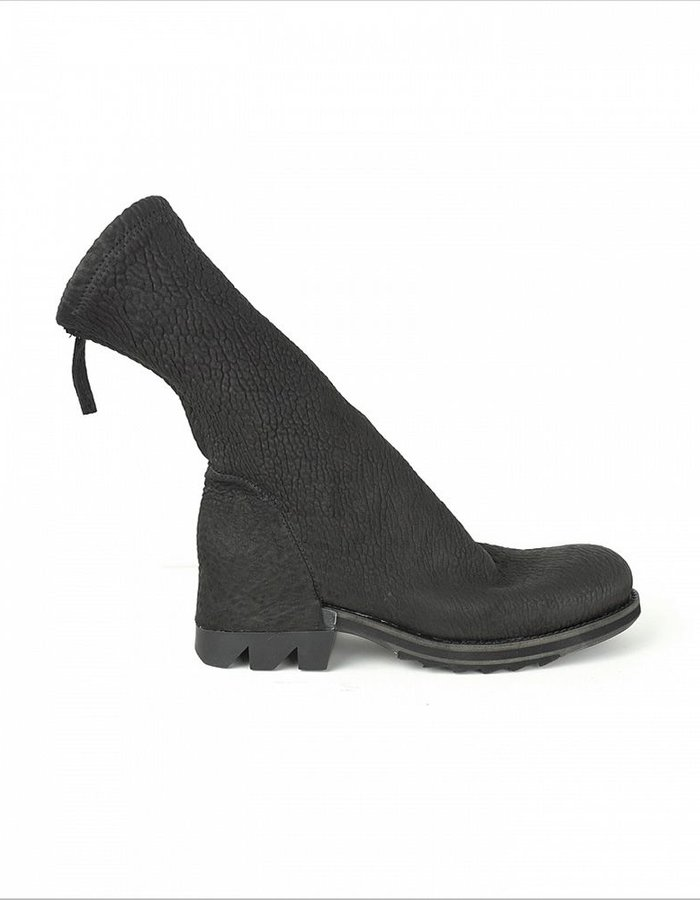 CINZIA ARAIA SHUN  STRETCH WRINKLE LEATHER BOOT