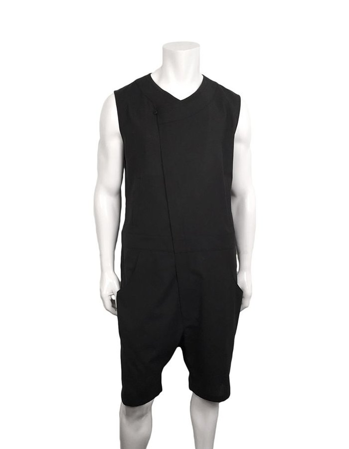 D.GNAK DIAGONAL ZIP JUMPSUIT