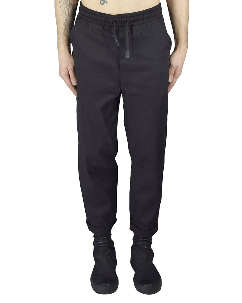 SHEER DOUBLED  COTTON CUFF PANT
