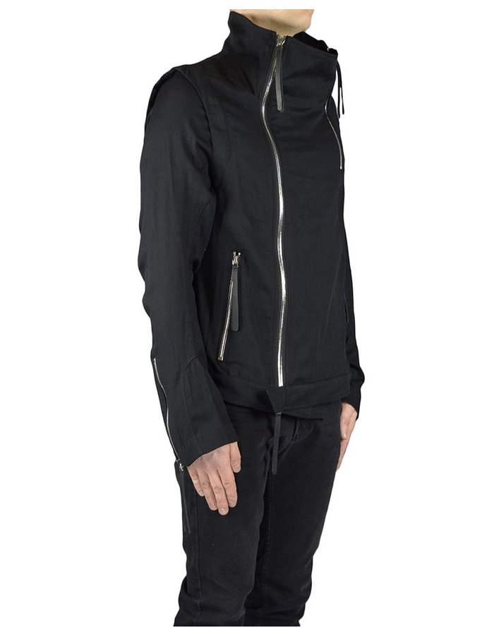 DAVID'S ROAD DOUBLECOTTON ZIP JACKET