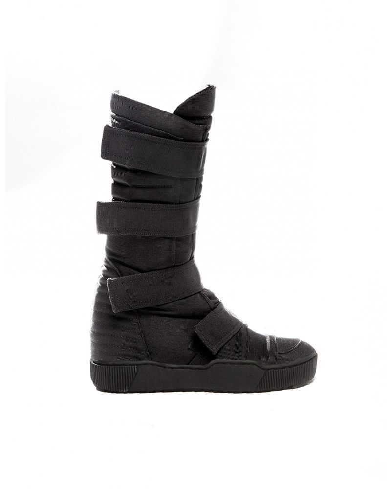 WOMENS MOON ROVER :BLK SOLE