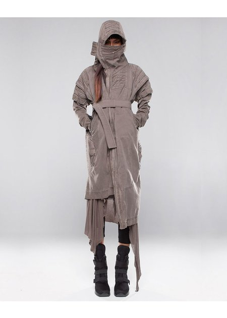 DEMOBAZA OVERCOAT FOREST KEEPER -WOMENS