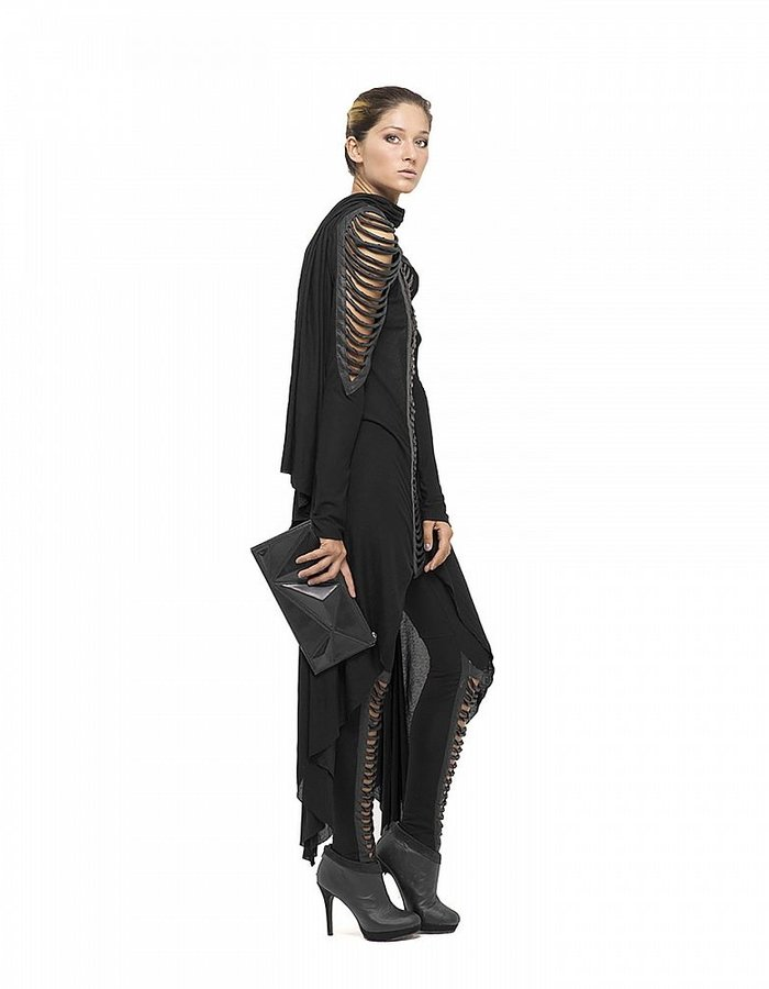 GELAREH DESIGNS TORZA LONG SLEEVE DRESS