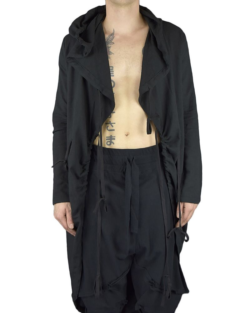 TUNNEL HOODED COAT