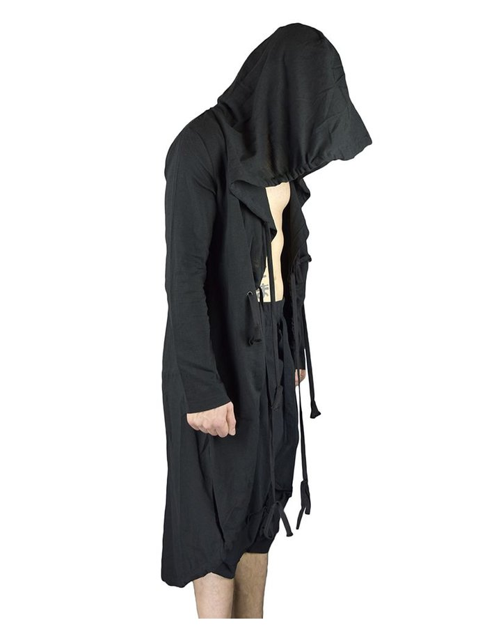 UNPLUGGED MUSEUM TUNNEL HOODED COAT