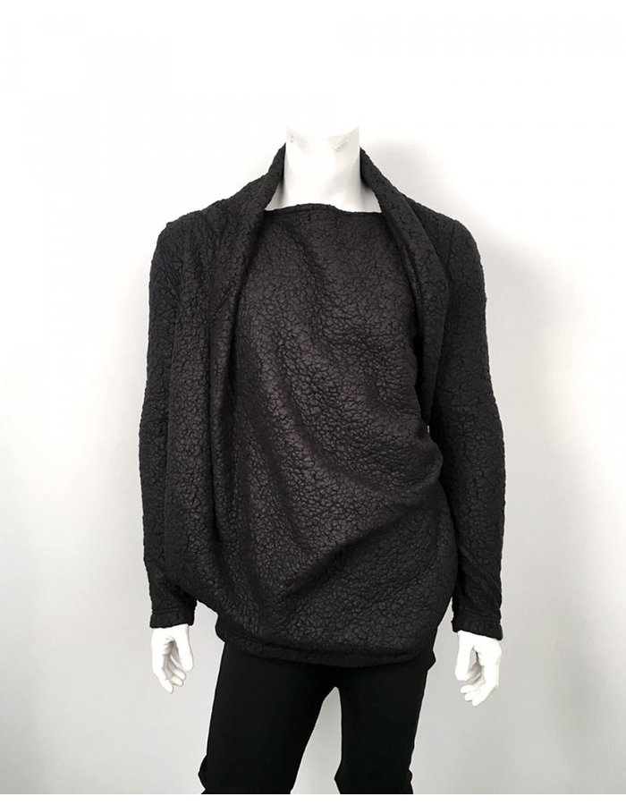 RESURRECTION DRAPE SHIRT CASHMERE WOOL