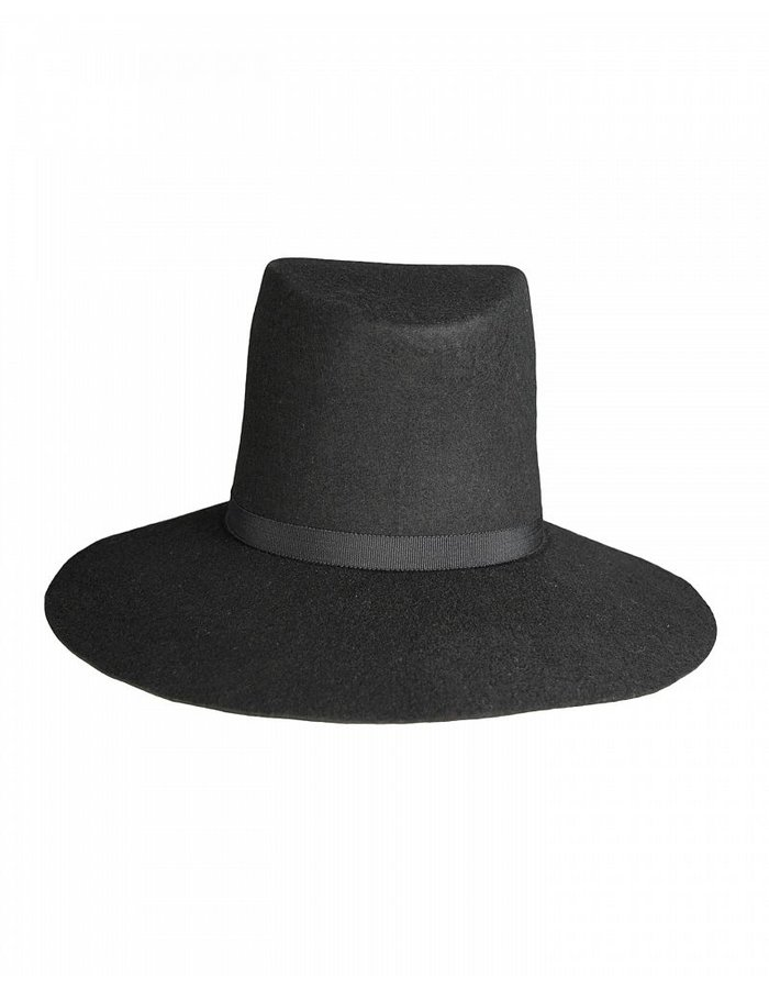 LEON LOUIS LARGE WOOL HAT