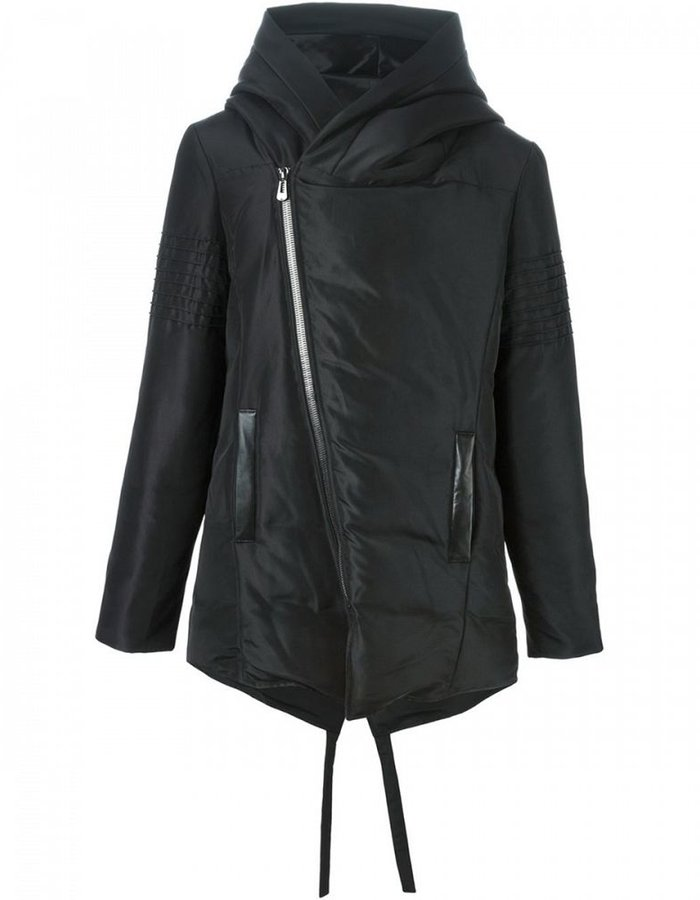 UNCONDITIONAL DOWN PARKA WITH CONTRAST HOOD