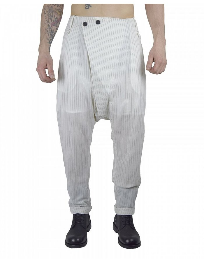 LOST AND FOUND FOLDED FRONT PANT