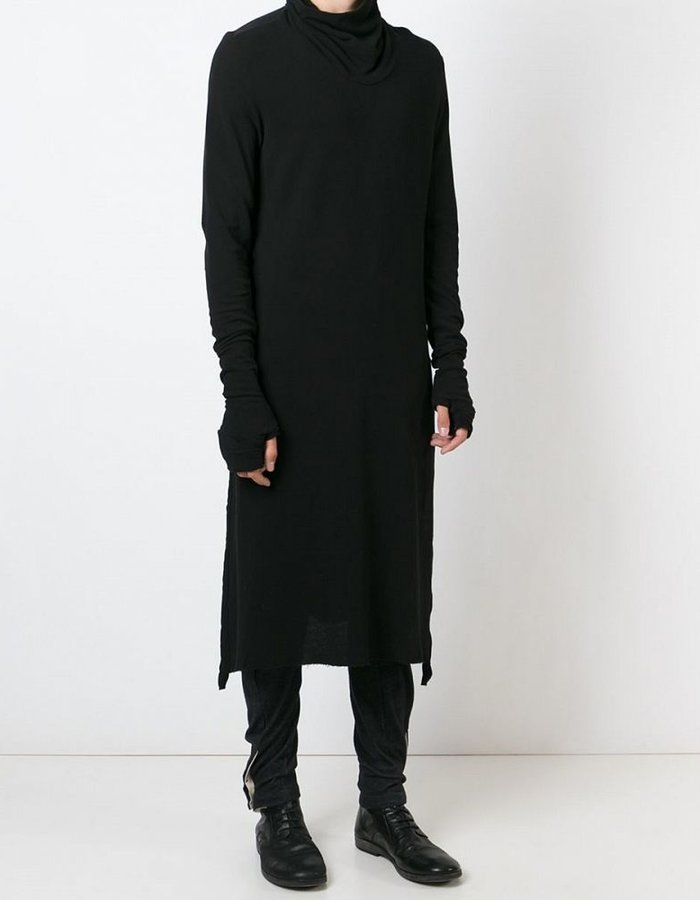 LOST AND FOUND HIGH NECK TUNIC