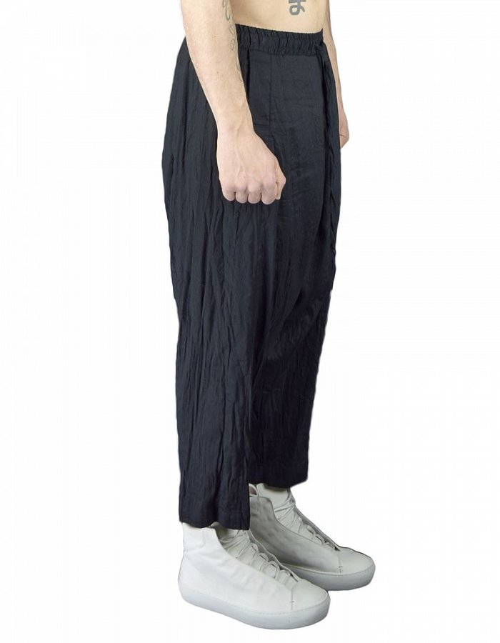 LOST AND FOUND LOW CROTCH PANT COTTON , LINEN ,SILK