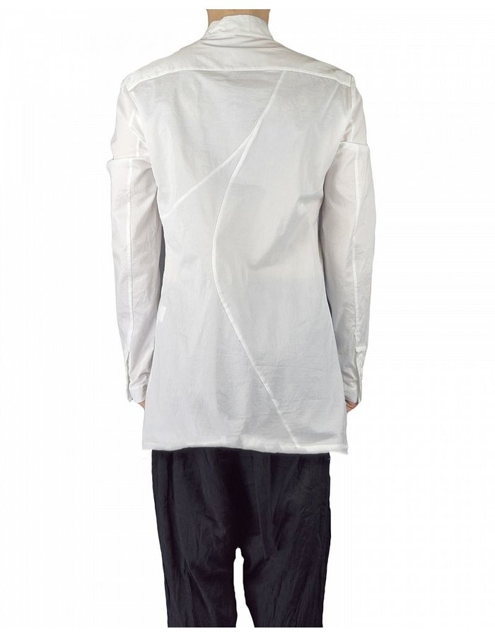 LOST AND FOUND PLEATED INSERT SHIRT