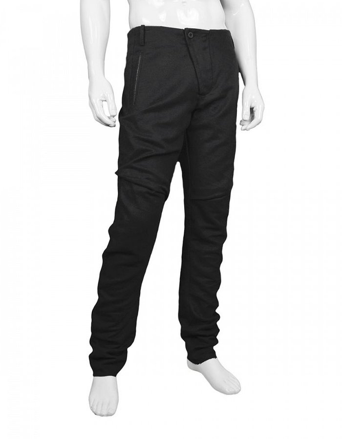 LOST AND FOUND SLIM CUT PANT LINEN + COTTON