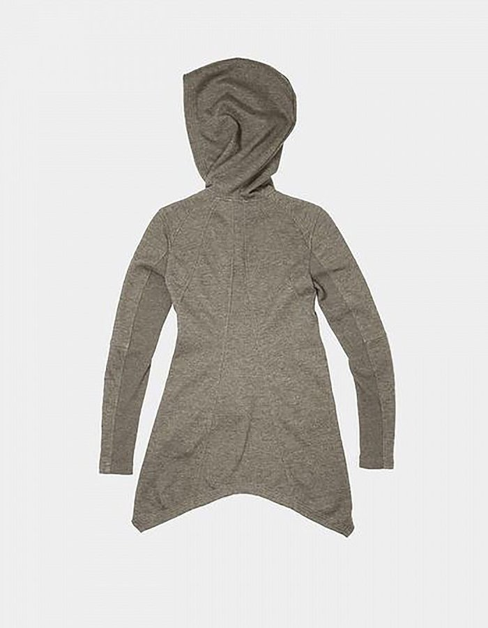 SKINGRAFT DOVETAIL HOODY : BROWN