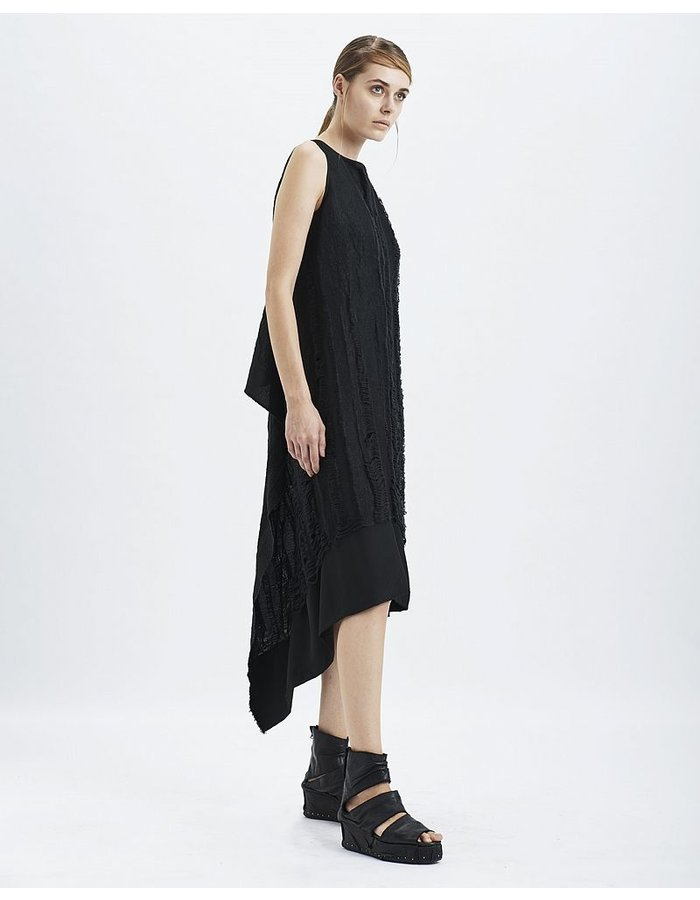 MASNADA DECAY PANEL DRESS