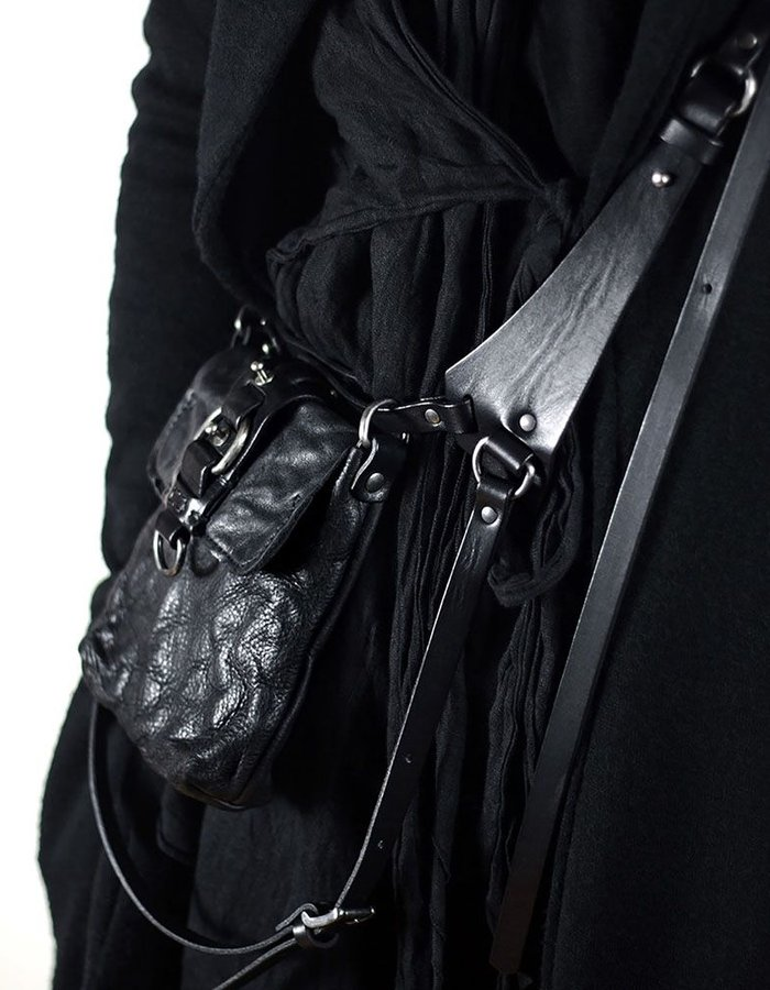 TEO + NG ARISTO LEATHER HARNESS POUCH