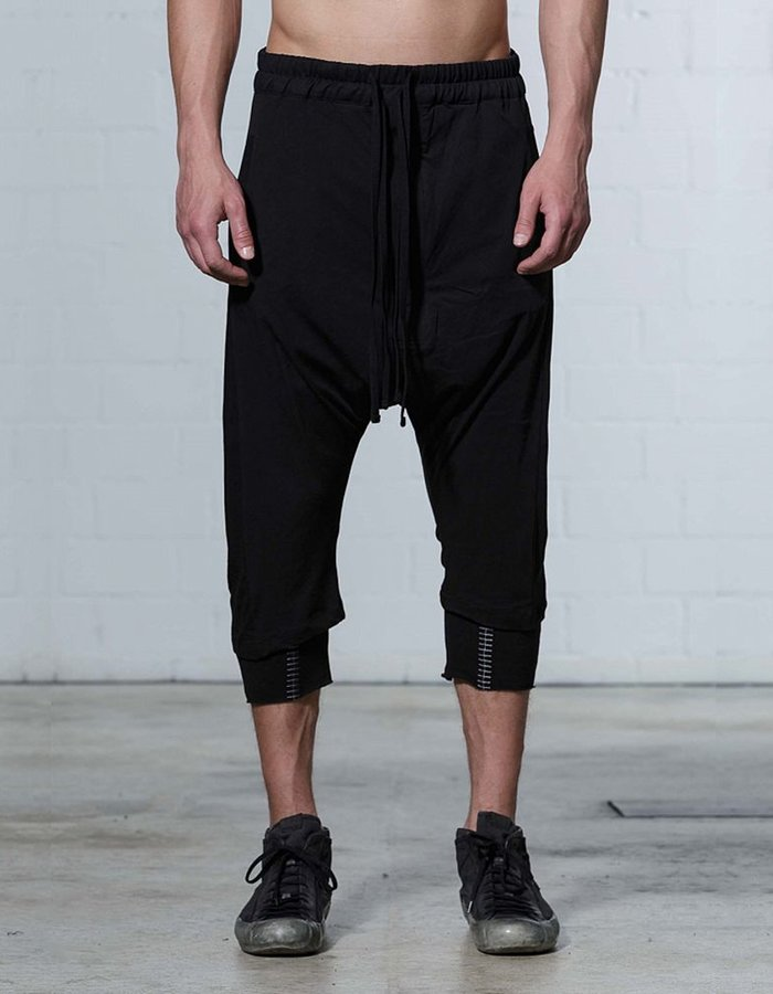 THOM KROM DOUBLE PANT WITH STITCHES