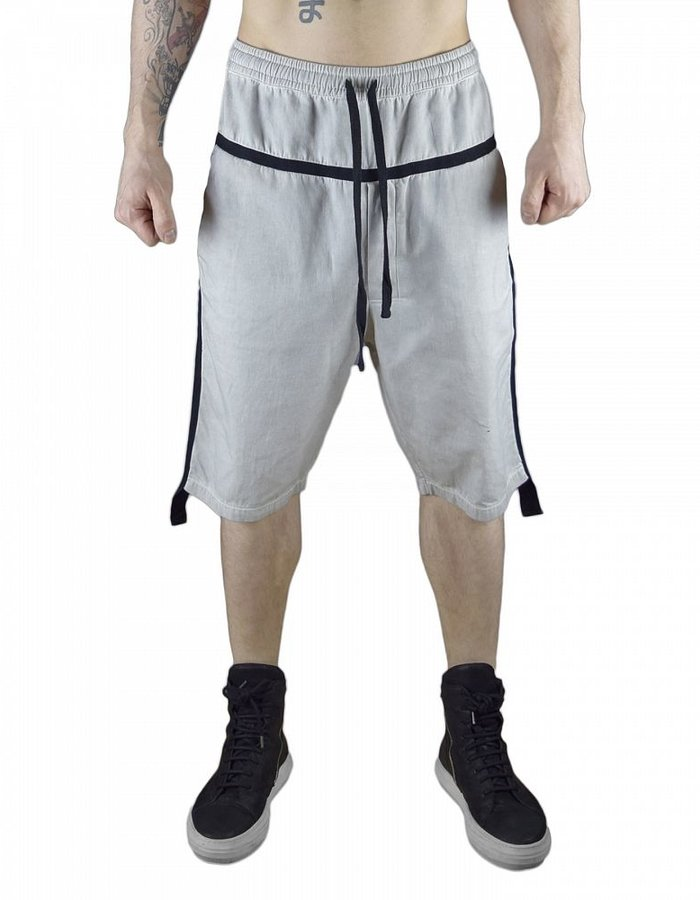 THOM KROM SHORTS WITH TAPE DETAIL