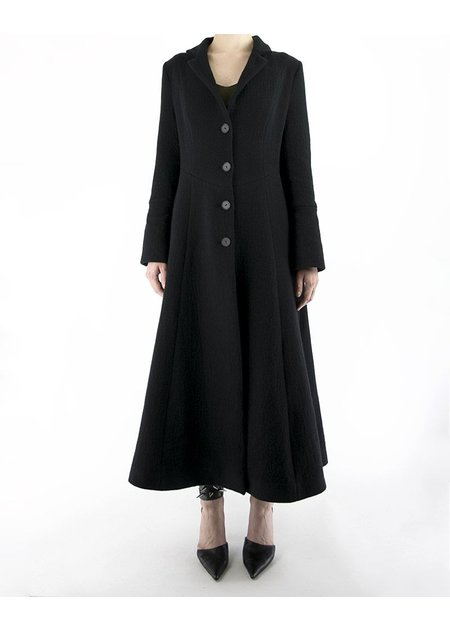 ANDREA YA'AQOV LONG WOOL COAT