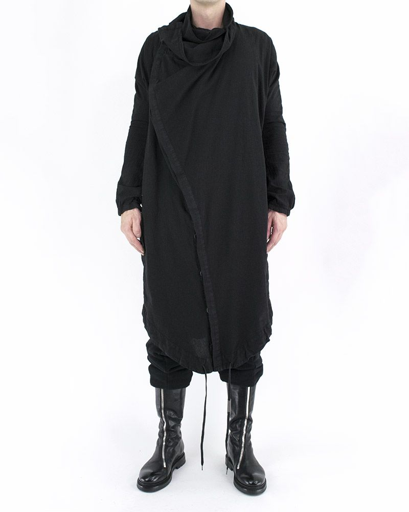 LIGHTWEIGHT OVERSIZED COTTON COAT 17