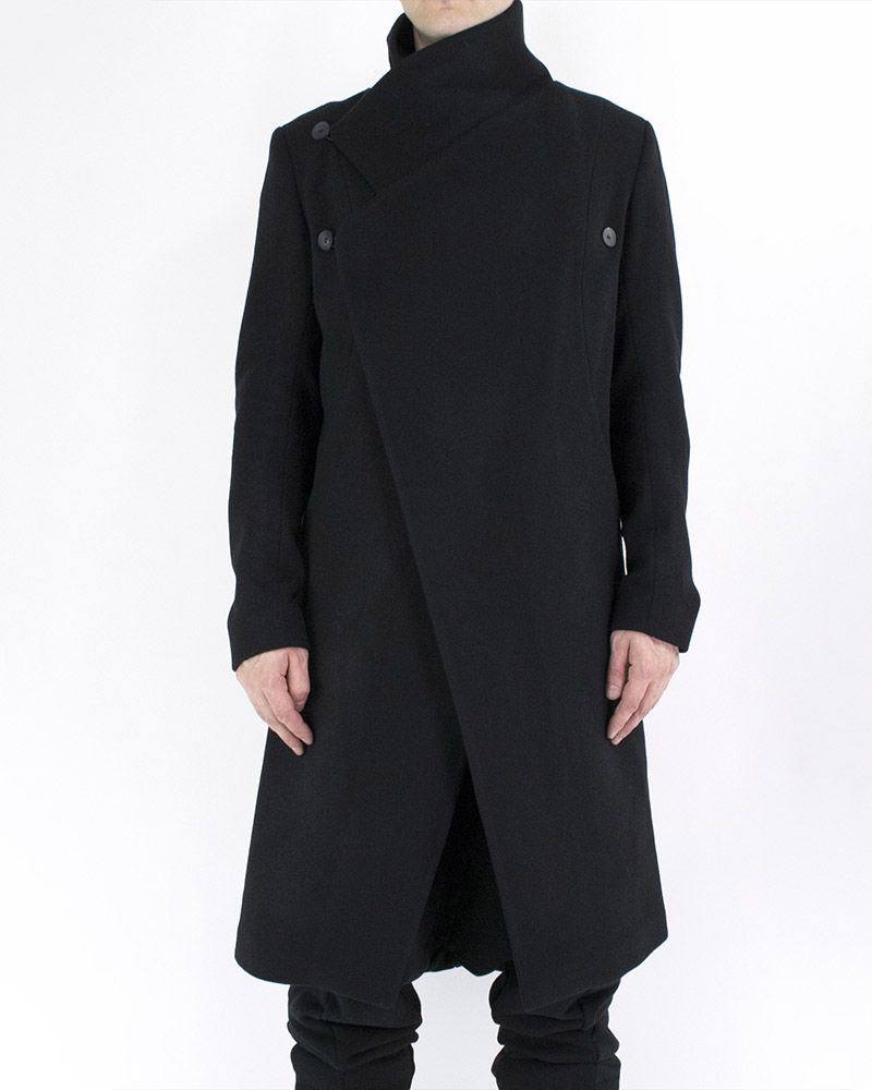 WRAP WOOL COAT 02