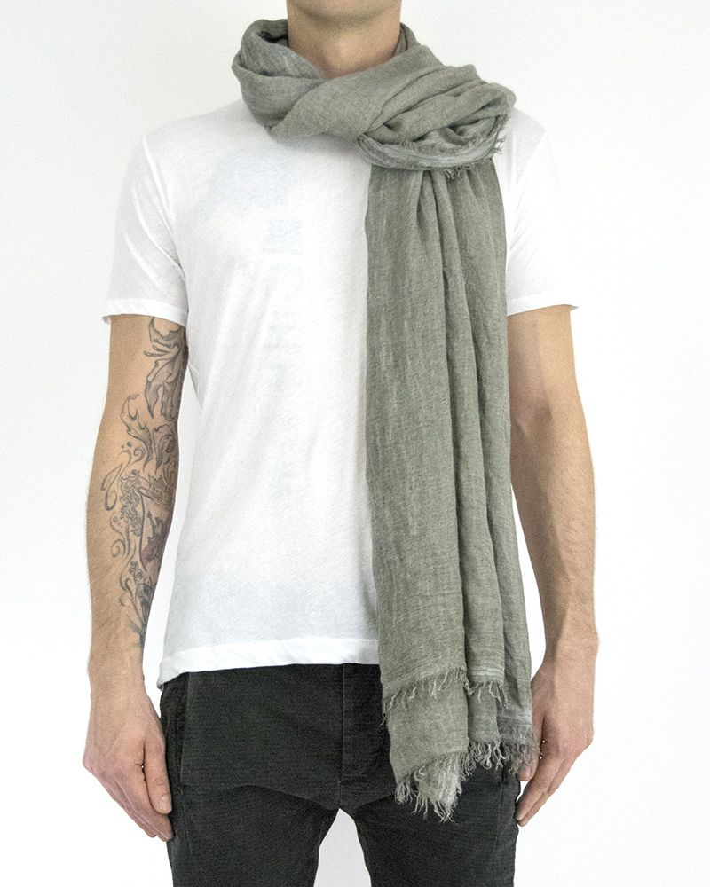 MODAL CASHMERE STOLE - TAUPE