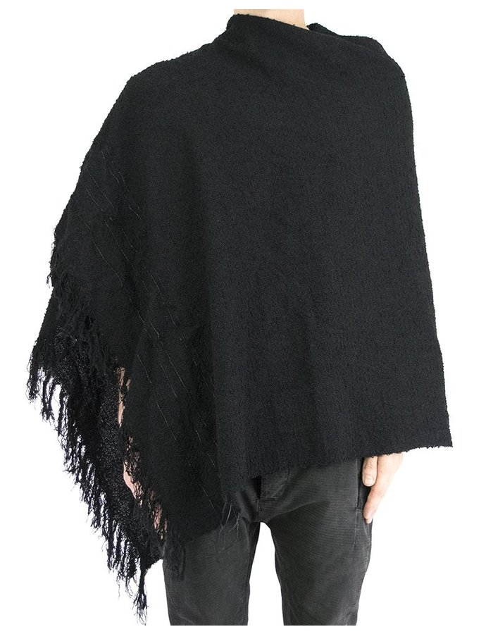 T.A.S LEATHER WEAVED SCARF/ STOLE/ TOP