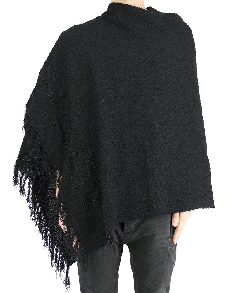 LEATHER WEAVED SCARF/ STOLE/ TOP