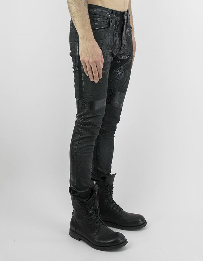 M-OJO RISIN' DIPPED WAXED DENIM - COLLA