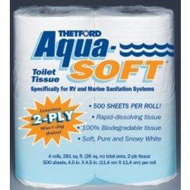 Thetford Aqua Soft Tissue 4 pk