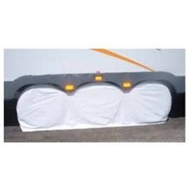 "Adco Triple Axle Tire Covers Fit 27"" to 29"" Tires Polar White 1 Cover Per Box"