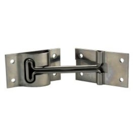 "JR Products 4"" Stainless Steel T-Style Door Holder"
