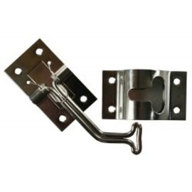 JR Products 45 Degree T Style Door Holder Stainless