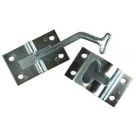 JR Products 45 Degree T Style Door Holder Zinc