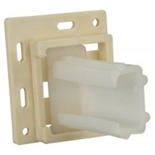 JR Products Drawer Slide Socket C Shape