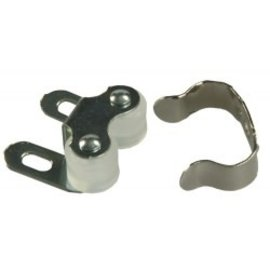 JR Products Double Roller Catch 2pk