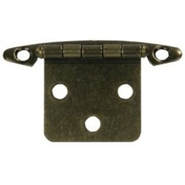 JR Products Free Swing Hinge Antique Brass 2pk