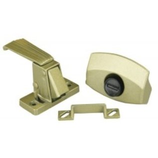 JR Products Privacy Latch Gold