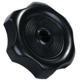 """JR Products Black Window Knob, 1/2"""" Shaft"""