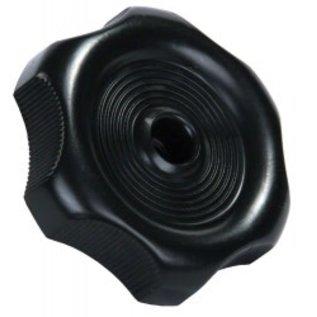 """JR Products Black Window Knob 1"""" Shaft"""