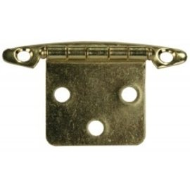 JR Products Free Swing Hinge Brass