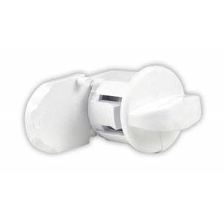 JR Products Hatch Thumb Latch White