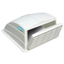 Camco Camco White Vent Cover