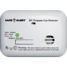 Safety Alert Mini Wired LP Alarm White Surface Mount