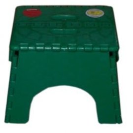 B&R Plastics Green Step Stool
