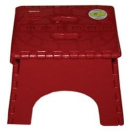 B&R Plastics Red Step Stool