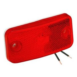Bargman #178 Red Clearance Light
