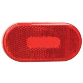 Fasteners Unlimited Command Oval Red Lens