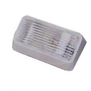 Bargman Bargman Porch Lite Clear Lens W/O Switch